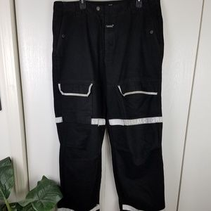 marithe francois girbaud black mens jeans size 40
